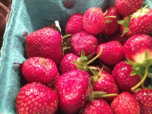graze CSA delivers strawberries, too capability mom blog